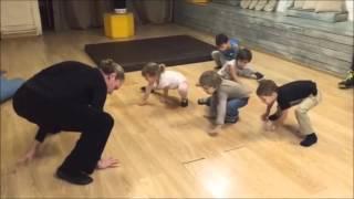Открытый урок развития физических качеств с элементами восточных единоборств и ушу(Детский центр