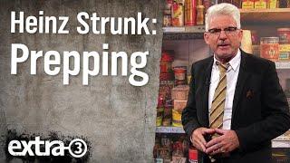 Experte für Prepping Heinz Strunk
