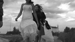 Свадебный клип чай вдвоем белое платье белая фата