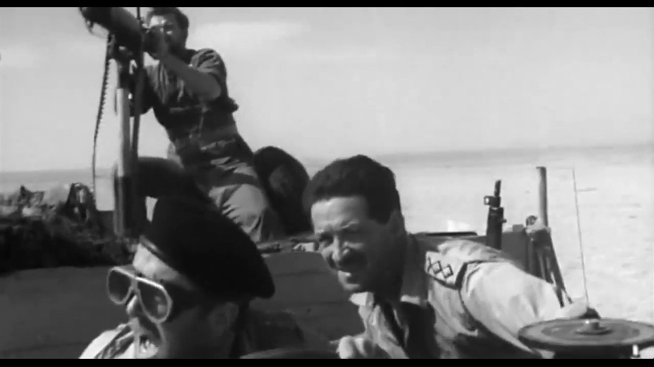 War Movie - Desert Patrol (Aka Sea of Sand) (1958)