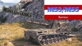World of Tanks M53 M55 tank review