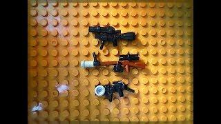 Собираем оружия из Lego (Самоделка # 32)