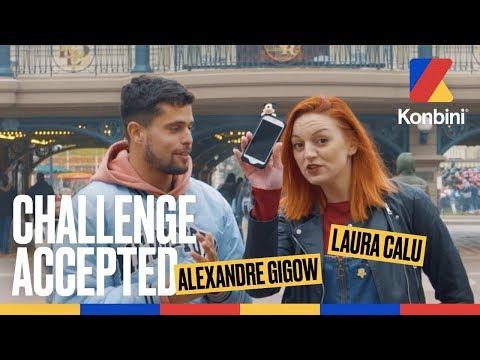 Vidéo : Challenge accepted avec Alexandre Gigow et Laura Calu