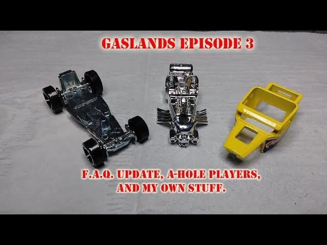 Gaslands: FAQ Update, A-Hole Players, & workshop update