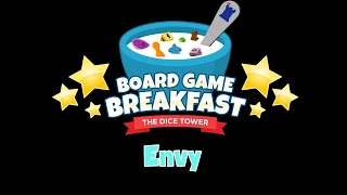 Board Game Breakfast - Envy