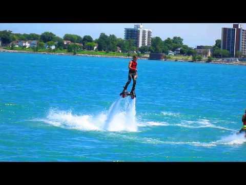 Detroit River Days 2014 Jet Ski show