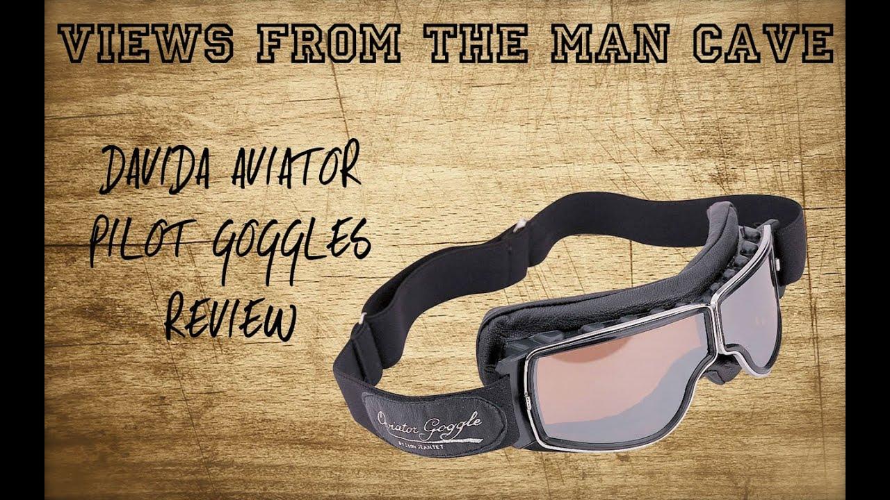 c86acaea26 Davida Aviator Pilot T2 Goggles Review - YouTube