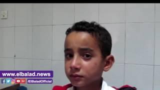 الإهمال يحول حياة أسرة 'أحمد' لمأساة..الطفل صعقته الكهرباء..والأم : أبواب 'المحول' مفتوحة ليل نهار.. فيديو وصور