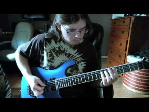 Dillinger Escape Plan - Panasonic Youth (Guitar Cover)