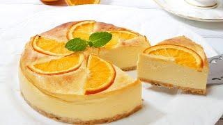 オレンジチーズケーキ| HiroMaru CooK TVさんのレシピ書き起こし