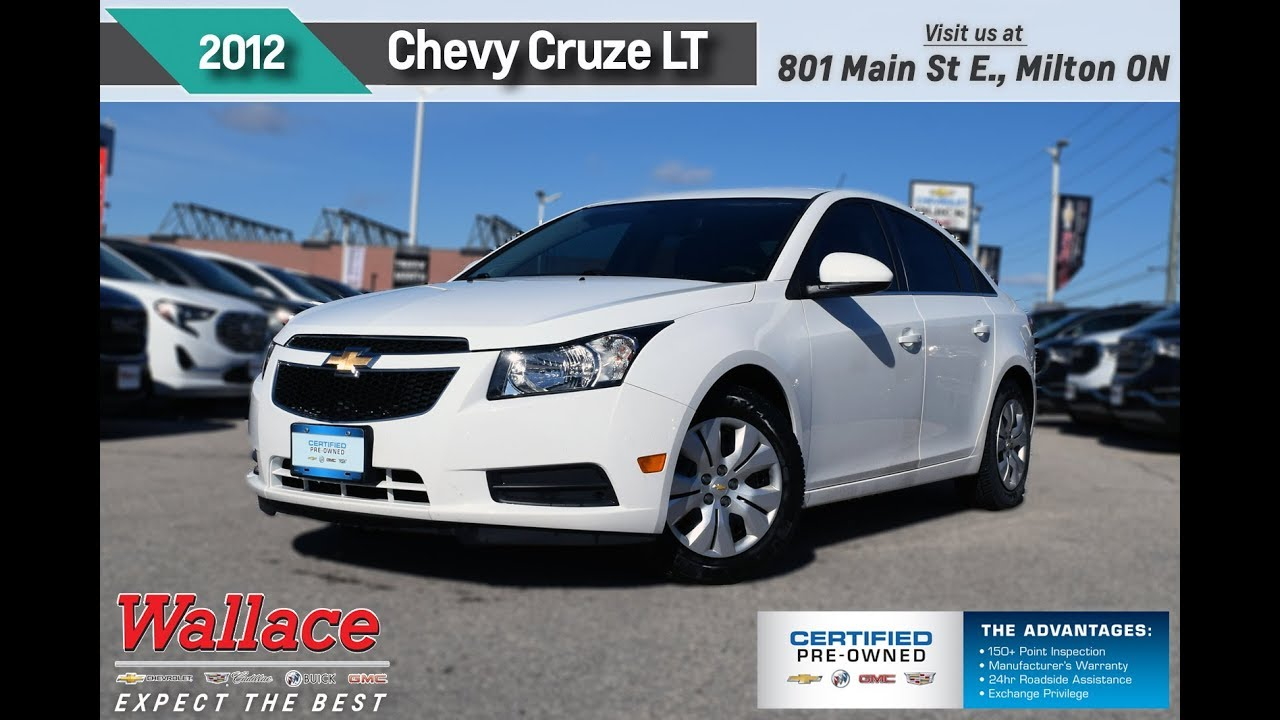 2012 chevrolet cruze 250516a wallace chevrolet certified pre owned youtube. Black Bedroom Furniture Sets. Home Design Ideas