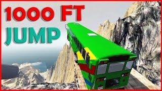 🎱 Realistic CLIFF Cars CRASHES - BeamNG Drive 🎱