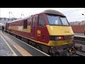 Trains at Peterborough, ECML | 15.02.17