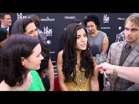 2015 Los Angeles Film Festival  Carpet Chat with Team POCHA: MANIFEST DESTINY