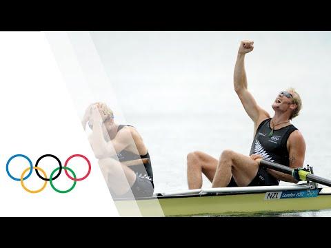 Murray & Bond (NZL) Win Rowing Men's Pair Gold - London 2012 Olympics