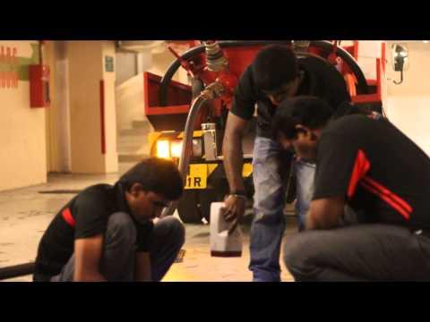 High Pressure Vacuum Tanker Cleaning