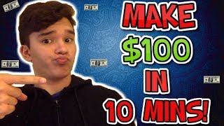 How To Make $100 To $1000 A Day In 10 Minutes OVER AND OVER