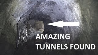 Underground German WW2 tunnels and 88 mm guns. JUST AWESOME !