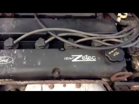 2001 ford focus Zetec engine water pump replacement  YouTube
