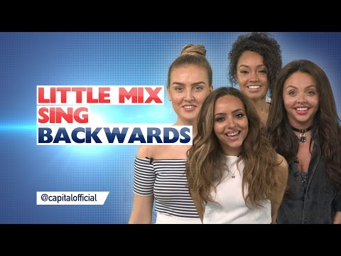 Little Mix Sing Backwards!