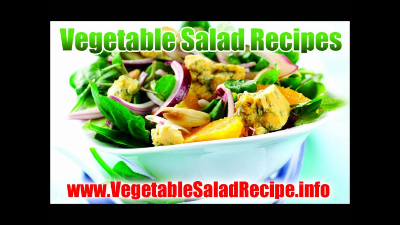 Healthy salad recipes weight loss vegetables raw food youtube forumfinder Gallery