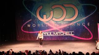 Chachi Gonzales ⎪World of Dance NY 2013⎪WOD NY