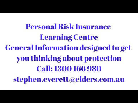 Come and Learn about Personal Risk Insurance