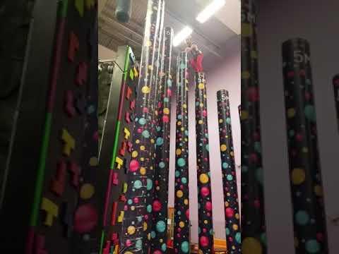 Reese climbs Vertigo Harlow Leisurezone