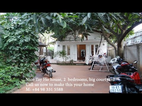 beautiful garden homes for rent. Beautiful garden house for rent in Tay Ho District  Hanoi www vietlonghousing com