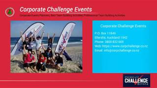 Three of the best team building events for small business - Corporate Challenge Events