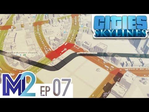 Cities: Skylines Let's Play Ep 7 - University and Metro (Vanilla No Mods)