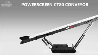 Powerscreen CT65 & CT80 Conveyor Range Animation