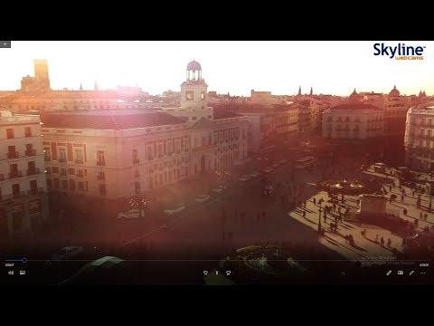 Madrid - Puerta del Sol - Spain - January - 29 - 2018