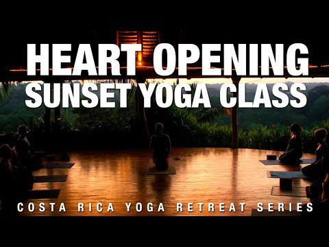 Heart Opening Sunset Yoga Retreat Class - Five Parks Yoga