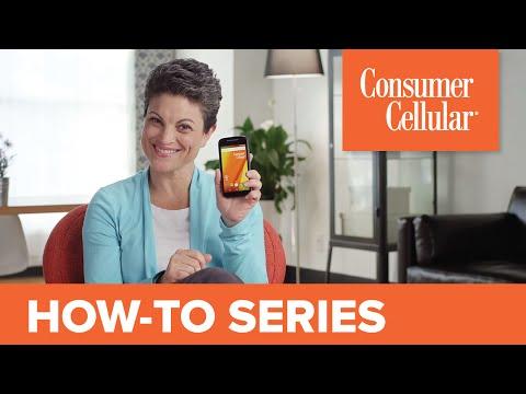 Motorola Moto E LTE: Cell Phone Overview & Tour (3 of 12) | Consumer Cellular