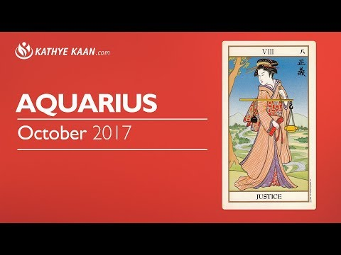 AQUARIUS OCTOBER 2017 💝A MONTH OF LOVE & MATERIAL WEALTH