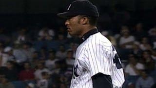 6/17/97: Mo picks up his first Subway Series save