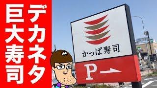 【かっぱ寿司】びっくりデカネタ寿司を食べてみた!