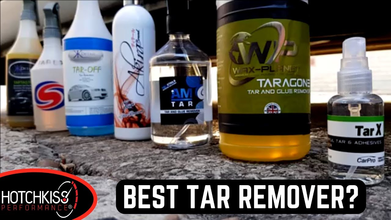 What Is The Best Tar And Glue Remover T G Product Of Test