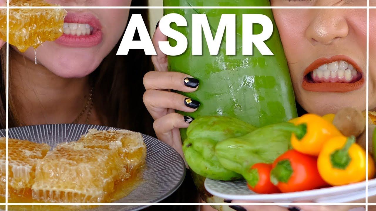 Asmr Makanan Mentah Feat Shely Che Youtube