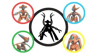 Pokemon Fusion Requests #92: All Deoxys forms.