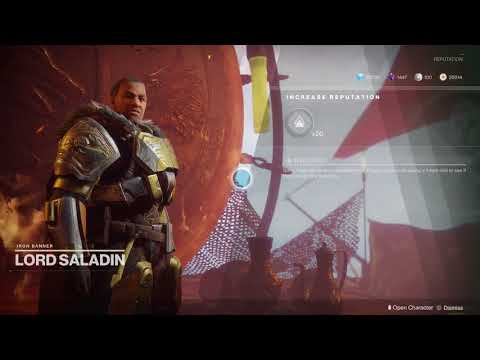 Destiny 2: Iron Banner 1st Milestone Completion (Season 1)