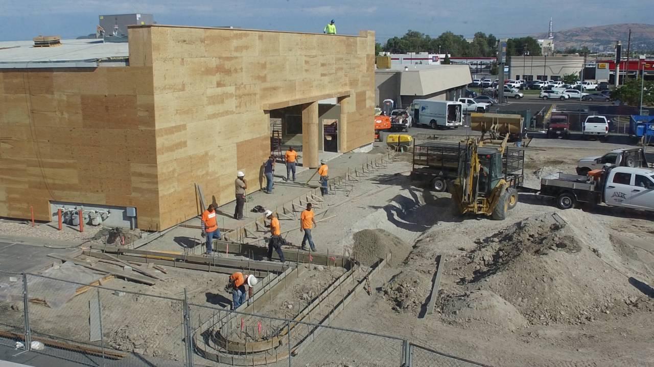 Tim Dahle Nissan Murray New Building Construction   Salt Lake City   Murray    Utah