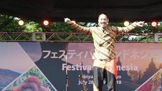 Terima Kasih - Hiroaki Kato @ Festival Indonesia 2018(Hibiya Park)_29/07/18 加藤ひろあき 検索動画 27