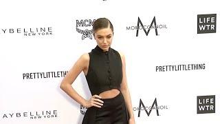 Delilah Belle Hamlin at Daily Front Row Fashion Awards red carpet