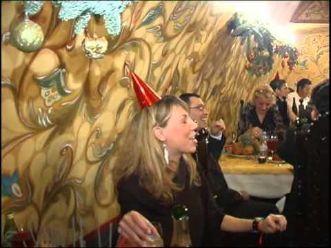 Встреча Нового года в ресторане. Корпоратив на Новый год