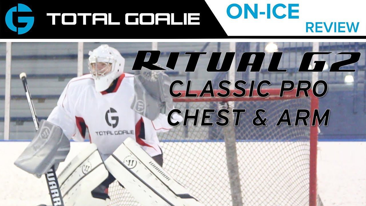 e0c87ec29d7 Warrior Ritual G2 Classic Pro Chest   Arm Protector    On-Ice Review ...