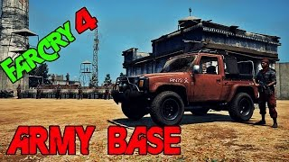 Far Cry 4 Army Base | Speed Mapping | Map Editor # Part 2