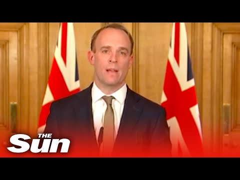 Dominic Raab And Government Officials Gives Coronavirus Daily Briefing - Replay In Full