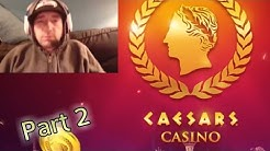 CAESARS SLOT MACHINES & GAMES P2 Free Mobile Casino Game Android / Ios Gameplay HD Youtube YT Video